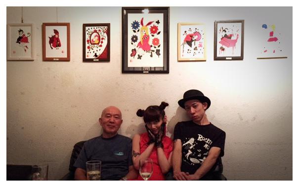 左から:はげまるさん、由起古猫、尾崎嘉宣さん