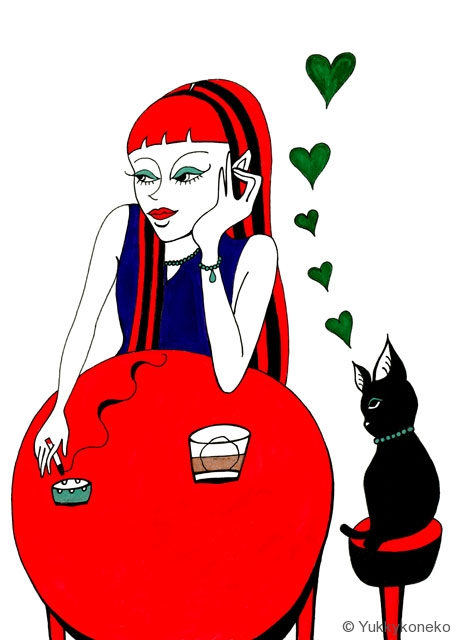 恋する黒ネコ