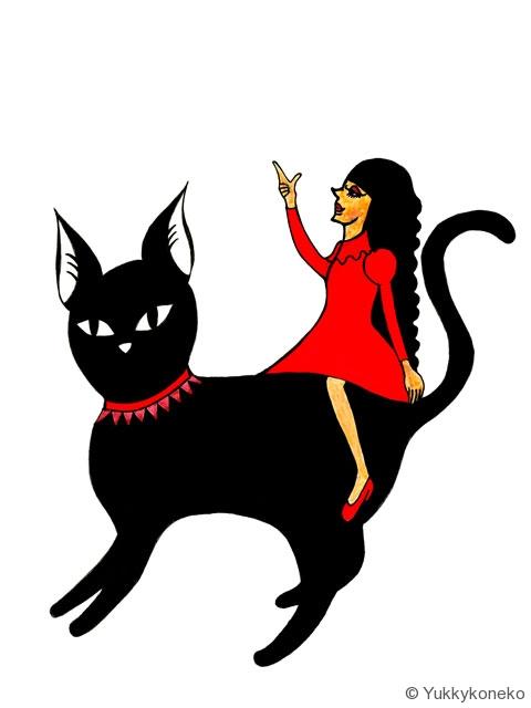 黒猫のお誘い